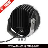 EMC 차를 위한 승인되는 12V IP67 9 인치 120W 둥근 크리 사람 LED 모는 빛