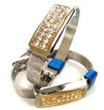 De Aandrijving USB 2.0 van de Flits van de Armbanden USB van het kristal