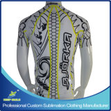 Kundenspezifisches Sublimation Cycling Jersey mit Neon Yellow Color