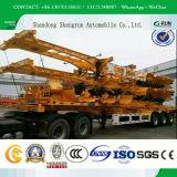 Nut 3 van de Prijs van de fabriek Aanhangwagen van de Vrachtwagen van de Container van Assen 40FT de Skeletachtige