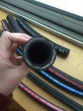 Manguito de goma hidráulico trenzado del alambre de SAE100r1at