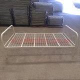Preiswertes Preis-Metalleinzelnes Bett-hochwertiges einzelnes Stahlbett für eine Person