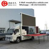 판매를 위해 트럭을 광고하는 높은 광도 P10 DIP346 LED 자동차