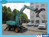Ponction de bois/Bois hydraulique de la machine avec Grab pour la collecte