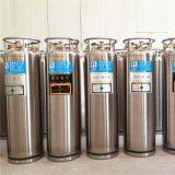 Cilindro isolados soldadas vertical LN2/LCO2/Lo2/lar de cilindros de gás de 195L-2.88MPa