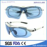 Entwerfer-Form-Mann-Sport polarisierte Sonnenbrillen Tr90