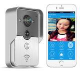 , 대화 기록하는, Ismart 새로운 WiFi 영상 오디오 문 벨 의 무선 양용 스냅