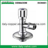 Garanzia di qualità che lucida la valvola di angolo d'ottone cromata (AV3066)