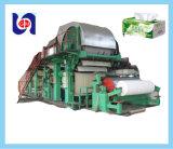 Rodillo de tocador de la pequeña escala que hace la máquina, papel usado que recicla la máquina