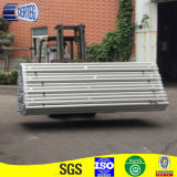 Tubo di alluminio anodizzato T5 #6005 con il certificato dello SGS