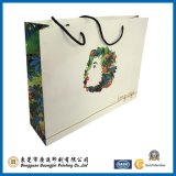 Livre blanc populaire Sac de shopping Garment Packaging Bag (GJ-Bag016)
