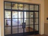 店のための極度の品質の鋼鉄ドアそしてWindows