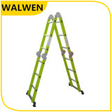 De plastic-bespoten Multifunctionele Gezamenlijke Ladder van het Aluminium