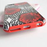 2016 el caso del teléfono de plástico TPU suave para el iPhone 6s/6plus