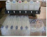 バルクシステム6PCS Bottle+12PCS 220mlはカートリッジ常態+インク管の1セットとしてコネクターを空ける