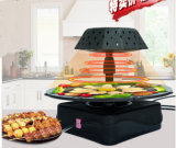 Het koken van BBQ van de Braadpan van de Apparatuur Elektrische (ZJLY)