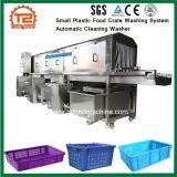 De industriële Kleine Plastic Wasmachine van het Systeem van de Was van het Krat van het Voedsel Automatische Schoonmakende