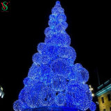 新しく大きい屋外のクリスマスツリーライト