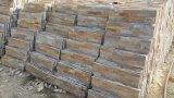 Pilha de ardósia chinês cultura pedra pedra para painéis de parede exterior e interior