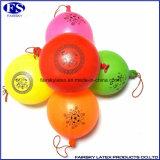 輪ゴムが付いている最上質の穿孔器の気球