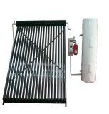 分割された真空管の太陽水暖房装置