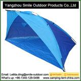 傘浜日曜日は避難所の陰のおおいのキャンプのテントを保護する