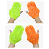 Pratico e Comfortable Silicone Massage Gloves Handheld Massager