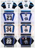 Настроить Echl Огаста Lynx МУЖСКАЯ МАЙКА Hamerlik женщин Детский Питер Erickson Бретт Jaeger Shane Хайнз дешевые хоккей футболках Nikeid Goalit разрез