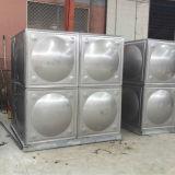 Quadrado dos tanques de água do aço inoxidável montado