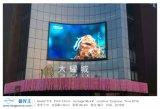 Diodo emissor de luz ao ar livre de HD que anuncia a tela