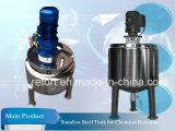 Steel di acciaio inossidabile Pressure Reactor Steam Heating Reactor per Chemical