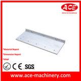 CNC maschinelle Bearbeitung des Aluminiumblockes