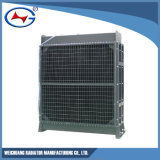 Radiador de aluminio modificado para requisitos particulares serie de la refrigeración por agua de A12V190-1200-X/(z) Td10d Jichai