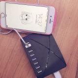 8 USB Chargeur intelligent 10000mA Chargeur rapide Chargeur de téléphone