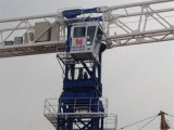Gru a torre a coperchio piatto dello SGS 6t dal fornitore della Cina della gru a torre