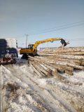 Excavadores de la rueda para el gancho agarrador de la madera para la caña de azúcar/la madera Catching