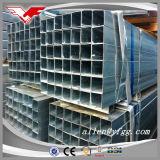 Tubo de acero cuadrado del invernadero y rectangular galvanizado construcción
