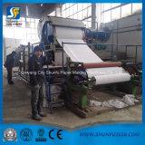 Fabricación para el papel higiénico que hace la cadena de producción de máquina que rebobina y que corta