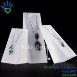 Présentoir de bijoux en acrylique pour colliers support du moniteur (VAJ502)