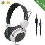 Fabricante de teléfonos de alta calidad de la cabeza mejor Mayorista de auriculares estéreo con cable