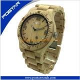 De In het groot Klassieke OEM Houten Horloges van uitstekende kwaliteit van de Pols van het Kwarts