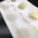 Azul ecológicas más ricos pañuelos de papel de envoltura de regalos
