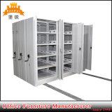 Jas-070政府の記憶の家具の移動式ファイルキャビネットの金属の移動可能なアーカイブの大容量棚