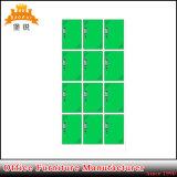 Wardrobe destacável do metal de 12 portas da mobília comercial quente da venda Jas-031