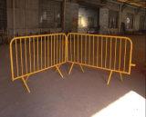 Портативные временно баррикада управлением толпы/барьер движения с ногами моста