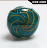 Цветные курения трубки DAB-воск ложкой стороны трубки табак Pocket стеклянной трубки