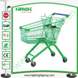 American Style supermercado carrito de la compra con ruedas Buena