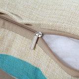 Il coperchio dell'ammortizzatore della parte posteriore del sofà stampato caso decorativo domestico del cuscino di manovella ha personalizzato
