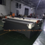 Excellent star CNC vibration Knife Leather Cutter Machine with AUTOMATIC Feeding 2516