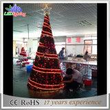 De LEIDENE Commerciële Reuze OpenluchtVerlichting van Kerstmis op het Licht van de Boom